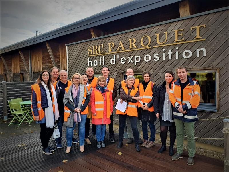 Visite de SRC Parquet